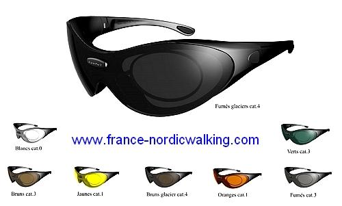 En plus de votre protection tête par votre casque, ces lunettes de soleil  avec verres correcteurs intégrés pour bien voir par tous les temps, 593e12659c0a